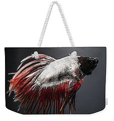 Betta Fish Weekender Tote Bag by Lisa Brandel