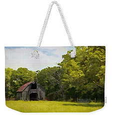 Weekender Tote Bag featuring the painting Better Days by Jeff Kolker