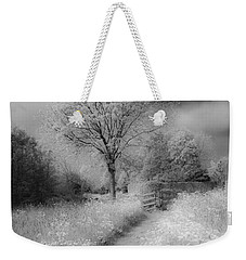 Between Black And White-23 Weekender Tote Bag