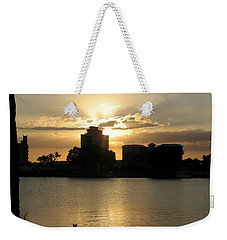 Between Day And Night Weekender Tote Bag