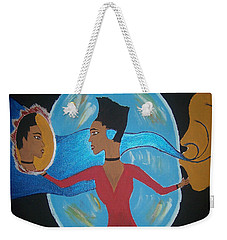 Between Dimensions Weekender Tote Bag