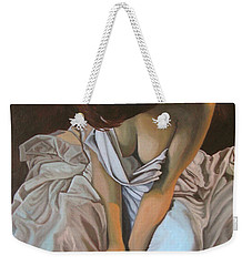 Between The Sheets Weekender Tote Bag