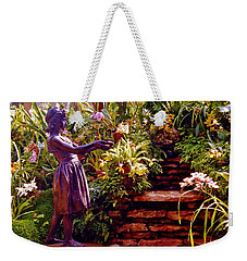Between The Steps Weekender Tote Bag