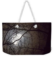 Weekender Tote Bag featuring the photograph Beware The Rougarou Moon by John Glass