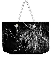 Beware The Woods Weekender Tote Bag by Wes and Dotty Weber