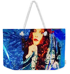 Bewitched In Blue Weekender Tote Bag