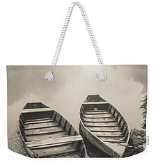 Beynac Boats Weekender Tote Bag