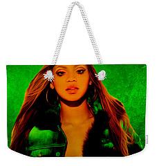 Beyonce II Weekender Tote Bag by Brian Reaves