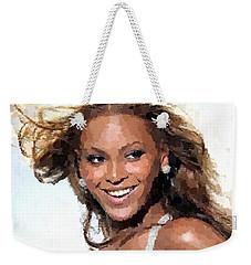 Beyonce Portrait Weekender Tote Bag