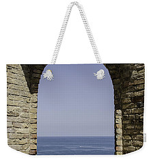Beyond The Gate Of Infinity Weekender Tote Bag by Andrea Mazzocchetti