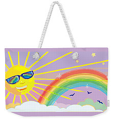 Beyond The Rainbow Weekender Tote Bag