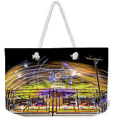 Beyond The Safety Fence Weekender Tote Bag by Ray Warren