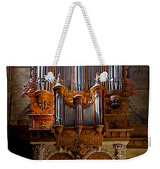 Beziers Pipe Organ Weekender Tote Bag