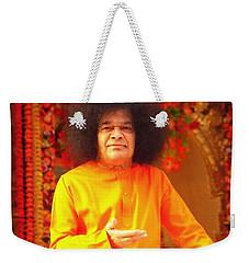 Bhagavan Sri Sathya Sai Baba Weekender Tote Bag by Carlos Avila