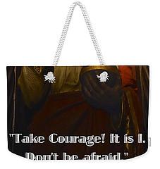 Bible Quote  Mark 6  50 Weekender Tote Bag