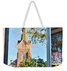Biblion Used Books Reflections 3 - Lewes Delaware Weekender Tote Bag