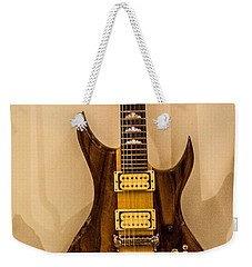 Bich Electric Guitar Colored Weekender Tote Bag