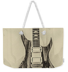 Bich Electric Guitar Monocolored Weekender Tote Bag