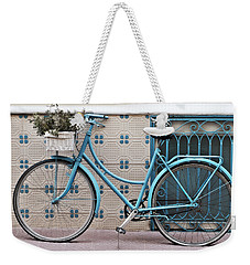 Vintage Bicycle Photography - Bicycles Are Not Only For Summer Weekender Tote Bag