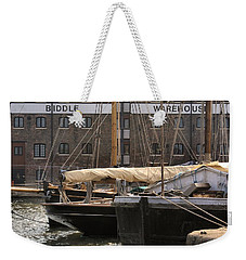 Biddle Warehouse Weekender Tote Bag by Ron Harpham