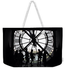 Biding Time Weekender Tote Bag