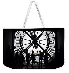 Biding Time Weekender Tote Bag
