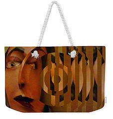 Bienvenido 2 Weekender Tote Bag by Linda Weinstock