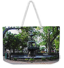 Bienville Fountain Mobile Alabama Weekender Tote Bag