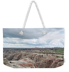 Big Badlands Overlook Weekender Tote Bag