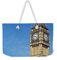 Big Ben And London Eye Weekender Tote Bag