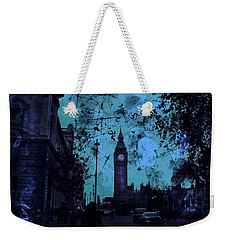Big Ben Street Weekender Tote Bag