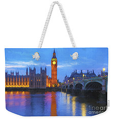 Big Ben Weekender Tote Bag by Veikko Suikkanen