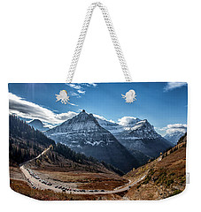 Weekender Tote Bag featuring the photograph Big Bend by Aaron Aldrich