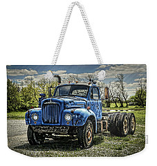 Big Blue Mack Weekender Tote Bag