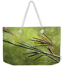 Big Bluestem In Bloom Weekender Tote Bag