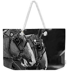 Weekender Tote Bag featuring the photograph Big Boys by Denise Romano