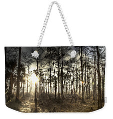 Big Cypress Fire At Sunset Weekender Tote Bag