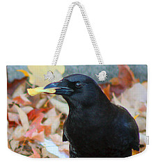 Big Daddy Crow Leaf Picker Weekender Tote Bag