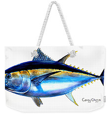 Big Eye Tuna Weekender Tote Bag by Carey Chen