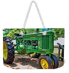 Big Green Weekender Tote Bag