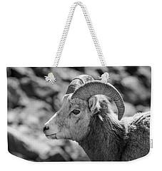 Big Horn Sheep Profile Weekender Tote Bag