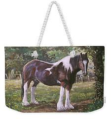 Big Horse In Field Weekender Tote Bag