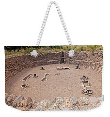 Big Kiva Bandelier National Monument Weekender Tote Bag