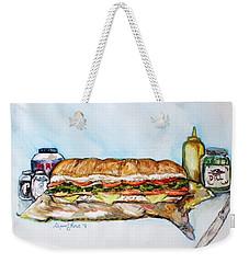 Big Ol Samich Weekender Tote Bag