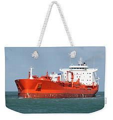 Big Red Tanker Weekender Tote Bag