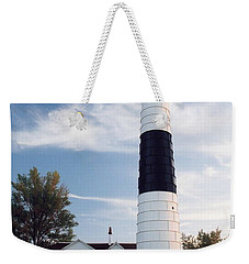 Big Sable Lighthouse Weekender Tote Bag
