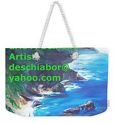 Big Sur Califorina Weekender Tote Bag