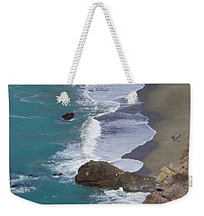 Big Sur Surf Weekender Tote Bag by Art Block Collections