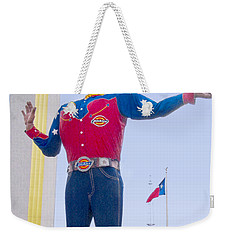 Big Tex And The Cotton Bowl  Weekender Tote Bag