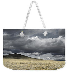 Big Volcano Field Weekender Tote Bag by Andrea Hazel Ihlefeld